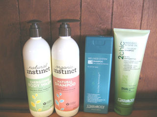 Hair, Skin & Body products